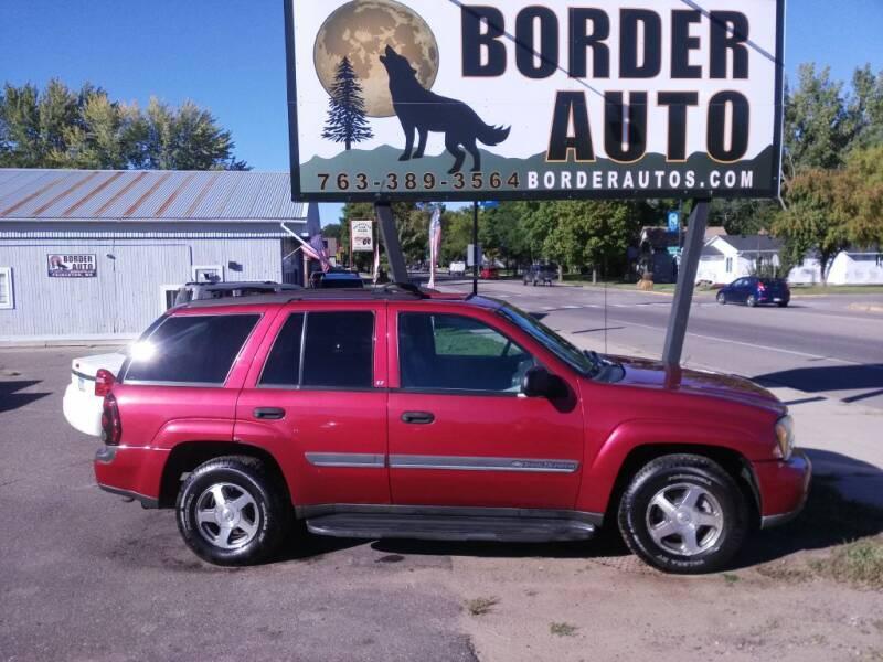 2002 Chevrolet TrailBlazer for sale at Border Auto of Princeton in Princeton MN
