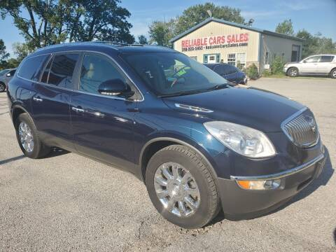 2012 Buick Enclave for sale at Reliable Cars Sales in Michigan City IN
