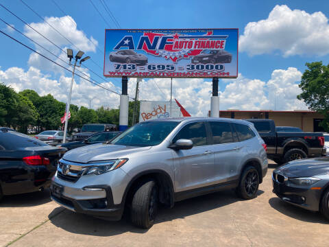 2019 Honda Pilot for sale at ANF AUTO FINANCE in Houston TX