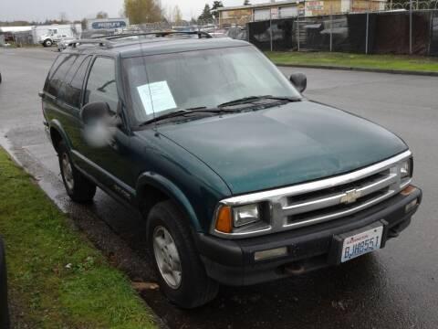 1996 Chevrolet Blazer for sale at AK Motors in Tacoma WA