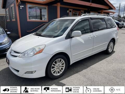 2008 Toyota Sienna for sale at Sabeti Motors in Tacoma WA