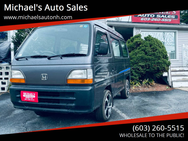 1995 Honda ACTY for sale at Michael's Auto Sales in Derry NH