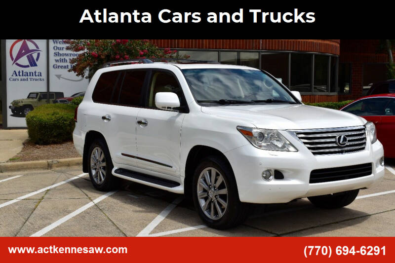 2011 Lexus LX 570 for sale at Atlanta Cars and Trucks in Kennesaw GA