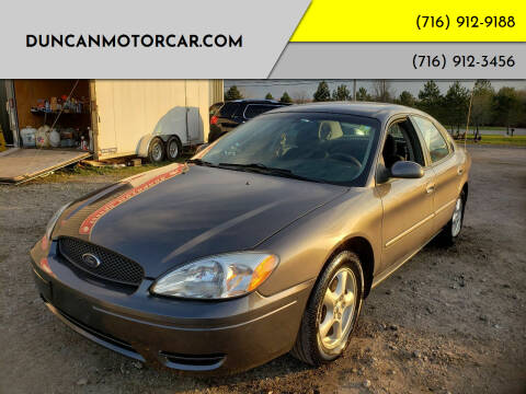 2004 Ford Taurus for sale at DuncanMotorcar.com in Buffalo NY