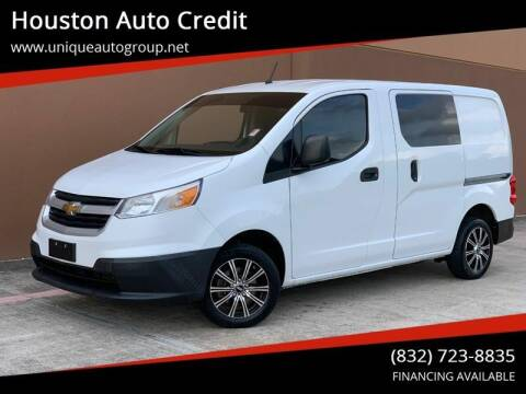 2015 Chevrolet City Express Cargo for sale at Houston Auto Credit in Houston TX