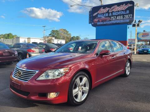 2010 Lexus LS 460 for sale at Auto Outlet Sales and Rentals in Norfolk VA