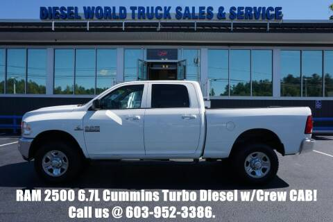 2016 RAM Ram Pickup 2500 for sale at Diesel World Truck Sales in Plaistow NH