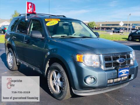 2012 Ford Escape for sale at Transportation Center Of Western New York in Niagara Falls NY