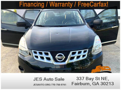 2013 Nissan Rogue for sale at JES Auto Sales LLC in Fairburn GA