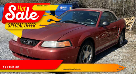 2001 Ford Mustang for sale at A & R Used Cars in Clayton NJ