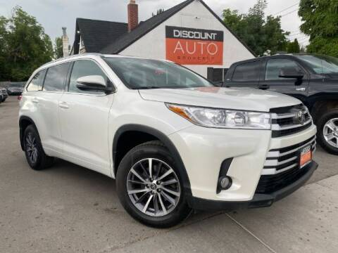 2018 Toyota Highlander for sale at Discount Auto Brokers Inc. in Lehi UT