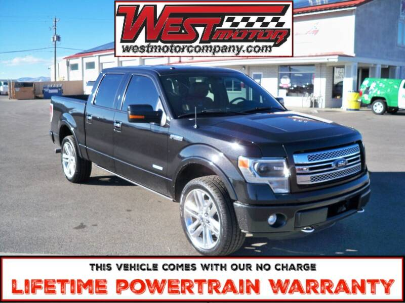 2013 Ford F-150 for sale at West Motor Company in Hyde Park UT