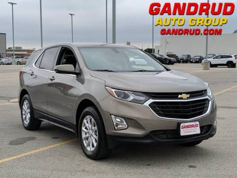 2018 Chevrolet Equinox for sale at Gandrud Dodge in Green Bay WI