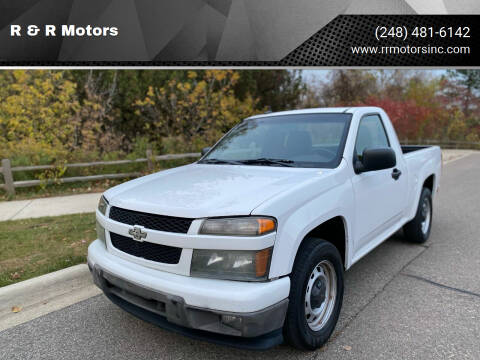 2011 Chevrolet Colorado for sale at R & R Motors in Waterford MI