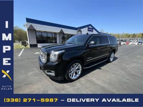 2018 GMC Yukon XL for sale at Impex Auto Sales in Greensboro NC
