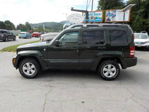 2012 Jeep Liberty for sale at EAST MAIN AUTO SALES in Sylva NC