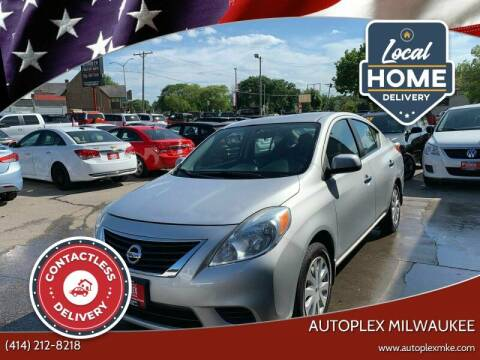 2013 Nissan Versa for sale at Autoplex 2 in Milwaukee WI