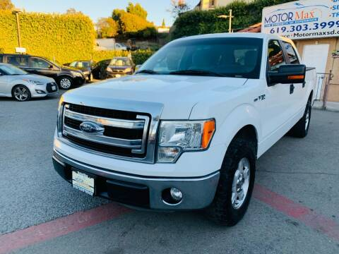2013 Ford F-150 for sale at MotorMax in Lemon Grove CA