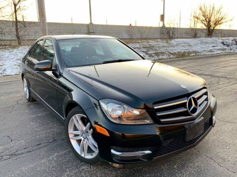 2014 Mercedes-Benz C-Class for sale at EMH Motors in Rolling Meadows IL