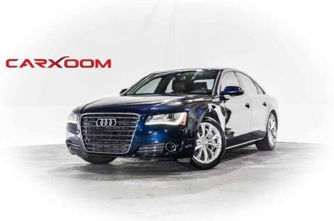2011 Audi A8 for sale at CarXoom in Marietta GA