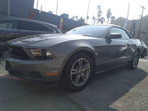 2010 Ford Mustang for sale at Western Motors Inc in Los Angeles CA