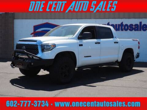 2018 Toyota Tundra for sale at One Cent Auto Sales in Glendale AZ