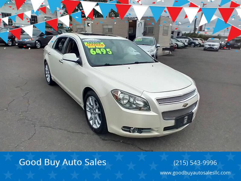 2011 Chevrolet Malibu for sale at Good Buy Auto Sales in Philadelphia PA