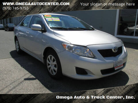 2010 Toyota Corolla for sale at Omega Auto & Truck Center, Inc. in Salem MA