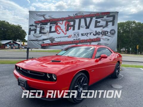 2017 Dodge Challenger for sale at RED RIVER DODGE - Red River of Malvern in Malvern AR