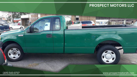 2005 Ford F-150 for sale at Prospect Motors LLC in Adamsville AL