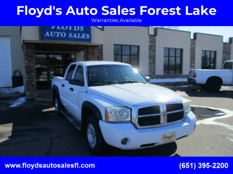 2007 Dodge Dakota for sale at Floyd's Auto Sales Forest Lake in Forest Lake MN