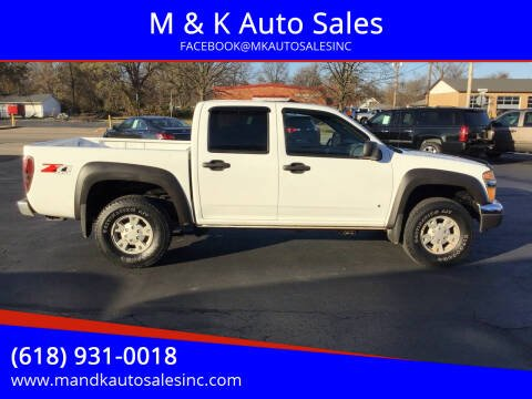 2006 Chevrolet Colorado for sale at M & K Auto Sales in Granite City IL