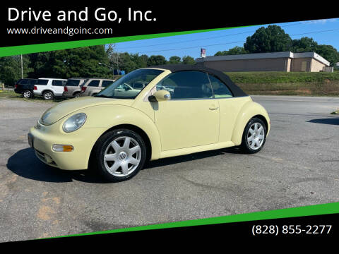 2003 Volkswagen New Beetle Convertible for sale at Drive and Go, Inc. in Hickory NC