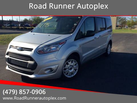 2017 Ford Transit Connect Wagon for sale at Road Runner Autoplex in Russellville AR