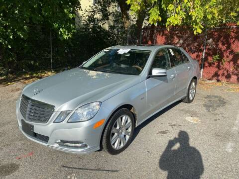 2012 Mercedes-Benz E-Class for sale at Polonia Auto Sales and Service in Hyde Park MA