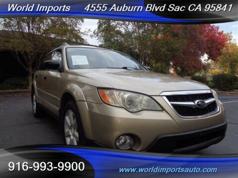 2008 Subaru Outback for sale at World Imports in Sacramento CA