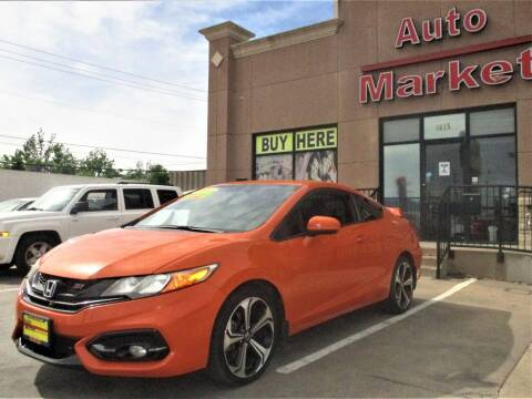 2014 Honda Civic for sale at Auto Market in Oklahoma City OK