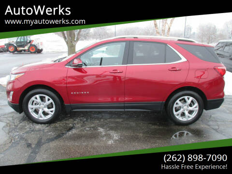 2019 Chevrolet Equinox for sale at AutoWerks in Sturtevant WI