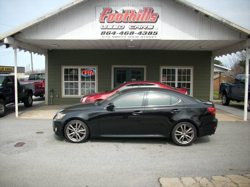 2006 Lexus IS 250 for sale at Foothills Used Cars LLC in Campobello SC