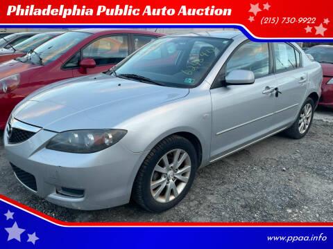 2008 Mazda MAZDA3 for sale at Philadelphia Public Auto Auction in Philadelphia PA