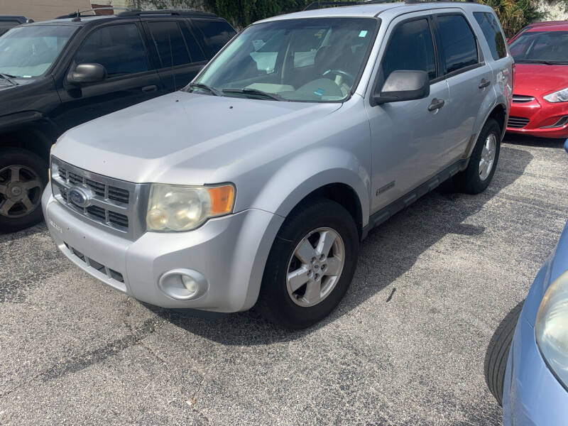 2008 Ford Escape for sale at Castle Used Cars in Jacksonville FL