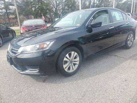 2014 Honda Accord for sale at Auto 757 in Norfolk VA