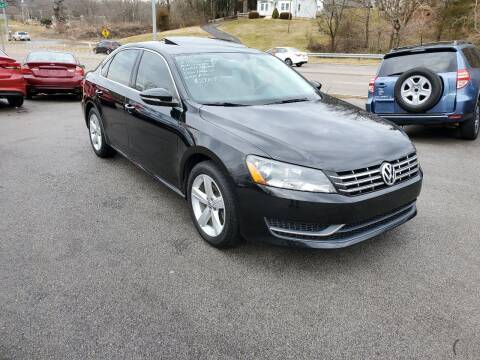 2012 Volkswagen Passat for sale at DISCOUNT AUTO SALES in Johnson City TN