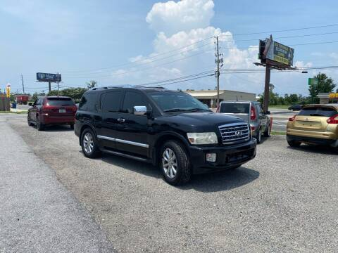 2008 Infiniti QX56 for sale at Lucky Motors in Panama City FL