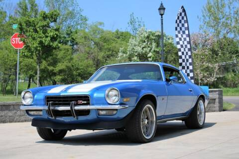 1973 Chevrolet Camaro for sale at Great Lakes Classic Cars & Detail Shop in Hilton NY