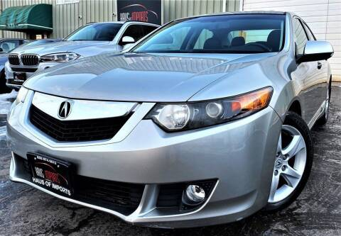 2009 Acura TSX for sale at Haus of Imports in Lemont IL