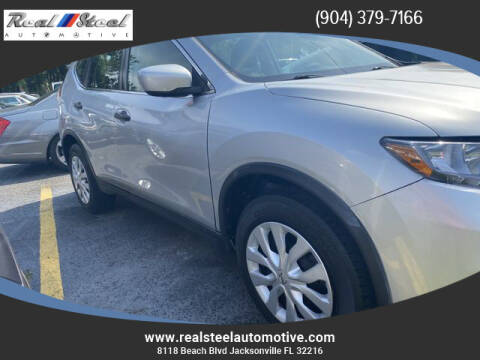 2016 Nissan Rogue for sale at Real Steel Automotive in Jacksonville FL