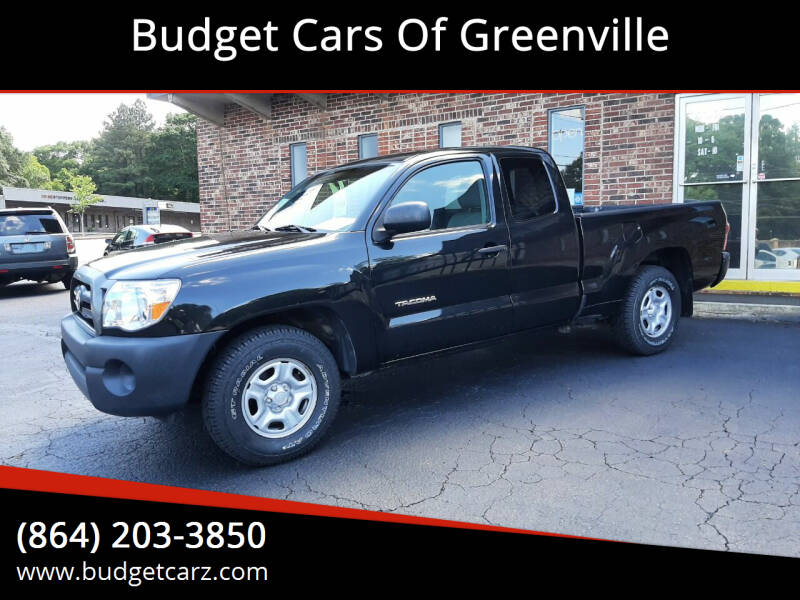 2008 Toyota Tacoma for sale at Budget Cars Of Greenville in Greenville SC