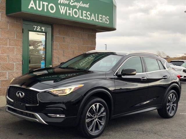 2017 Infiniti QX30 for sale at New England Wholesalers in Springfield MA