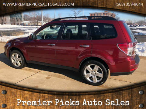 2010 Subaru Forester for sale at Premier Picks Auto Sales in Bettendorf IA